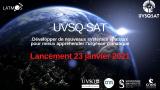 MISSION UVSQ-SAT :  Confirmation du lancement le 23 janvier à 15h40